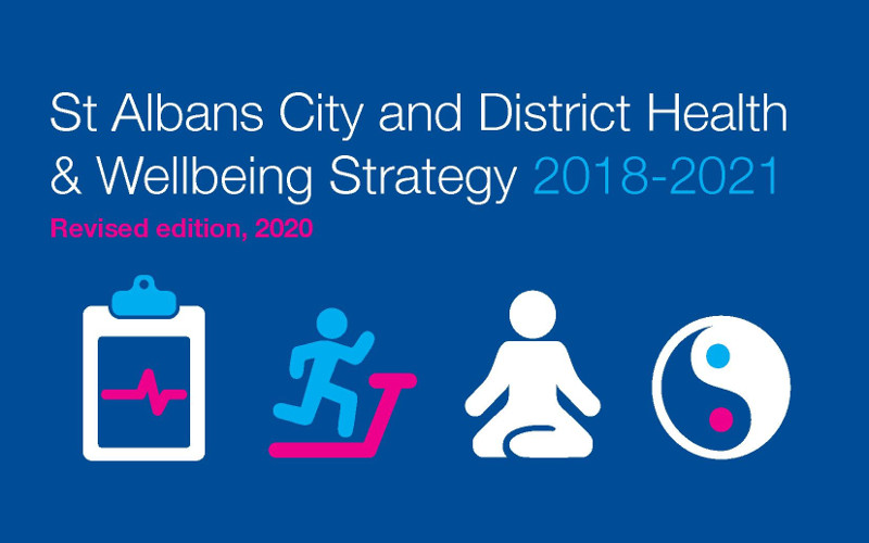 Health and wellbeing strategy cover