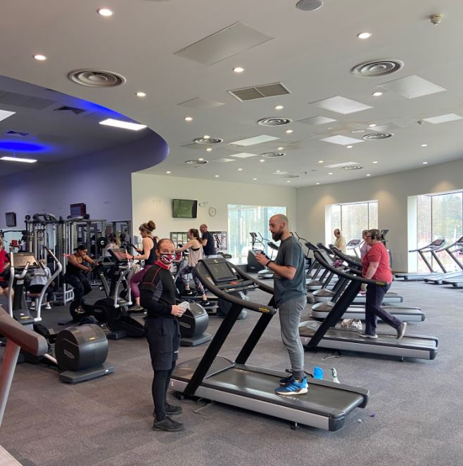 Westminster Lodge gym back in action