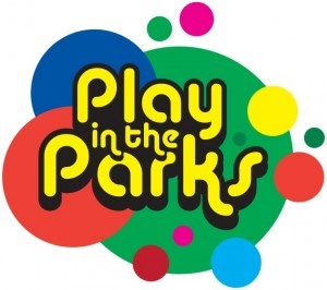 Play in the Parks logo