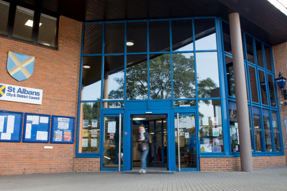 St Albans Council offices