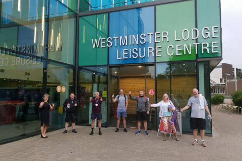 Westminster Lodge opens its doors again after the Covid19 lockdown.