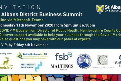 Business summit invite
