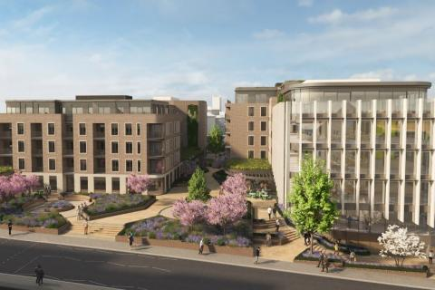 CCOS South - one of the Council's property developments